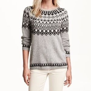 H&M Fair Isle Sweater